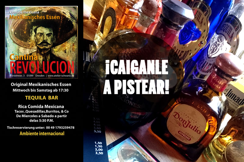 cantina revolucion mexican food latin party dresden