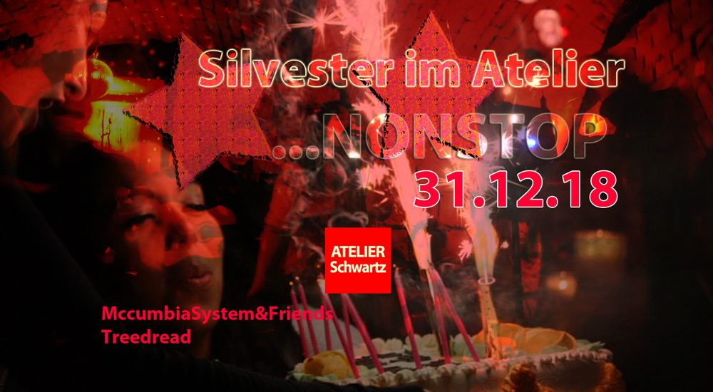 Silvester Party im Atelier