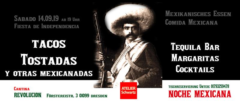 noche-Mexicana-cantina-revolucion-comida-mexicana-2019