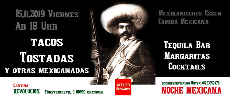 noche-Mexicana-cantina-revolucion-comida-mexicana15.11.2019