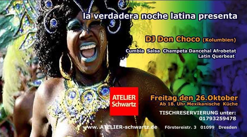 La verdadera Noche Latina the real latin night in Dresden