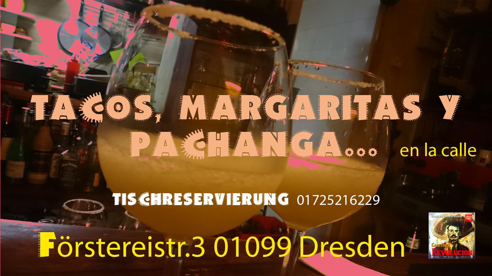 Tacos, margaritas y pachanga